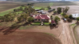 Aerial view of Sunnybrae Homestead